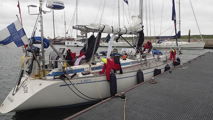 ocean ladies cuxhaven portsmouth arc 2018 Kuva: Jouni Kelkka