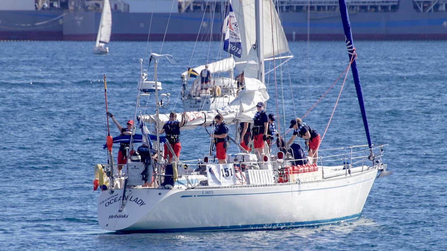 carissa ocean lady arc2018 las palmas st lucia